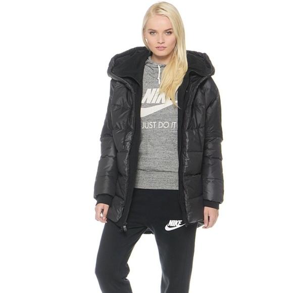 4c2566bc4583 Nike Women s Uptown 550 Down Winter Jacket Black